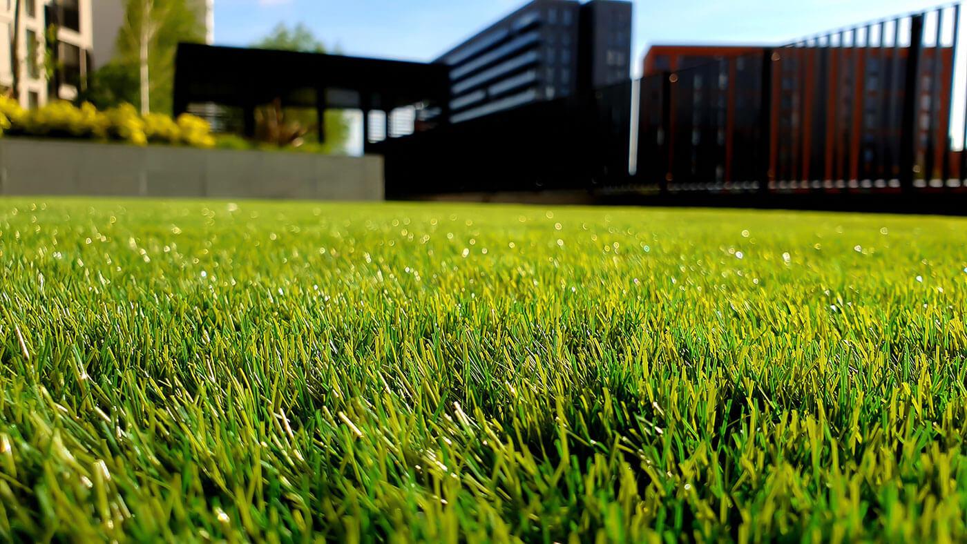 Ejendomsservice med vedligeholdelse af grønne arealer