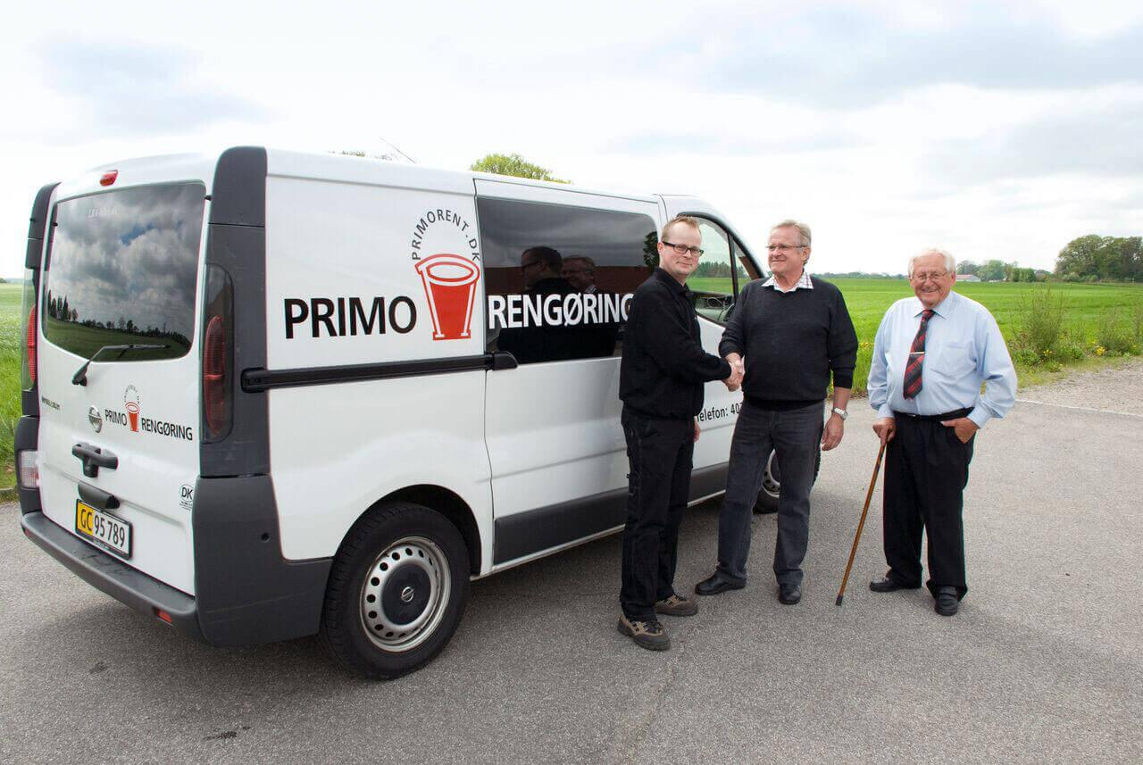 Primo Rengøring overdragelse